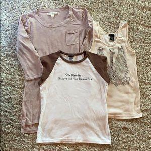 Just 3 shirts